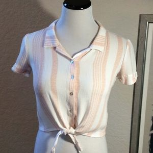 Cropped Top by Full Tilt Size Small